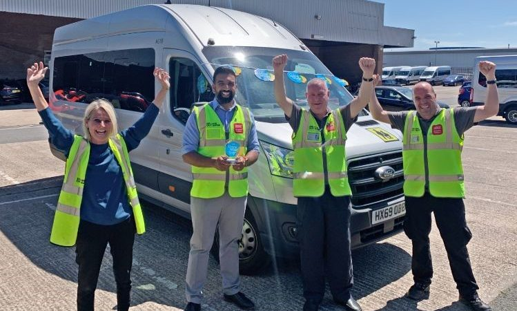 National Express Accessible Transport Awarded 'Covid-19 Stronger Together' Trophy